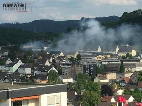 FW-MK: Brandeinsatz