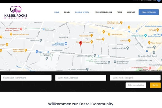 Kassel Rocks neue Community Plattform ist online
