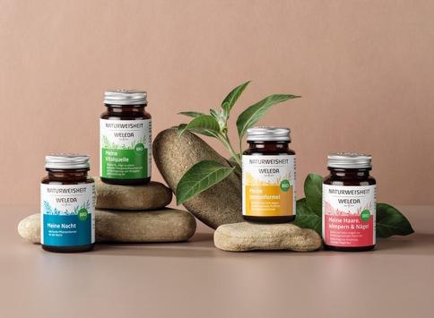 Weleda Naturweisheit: neue Bio-Nahrungsergänzungsmittel