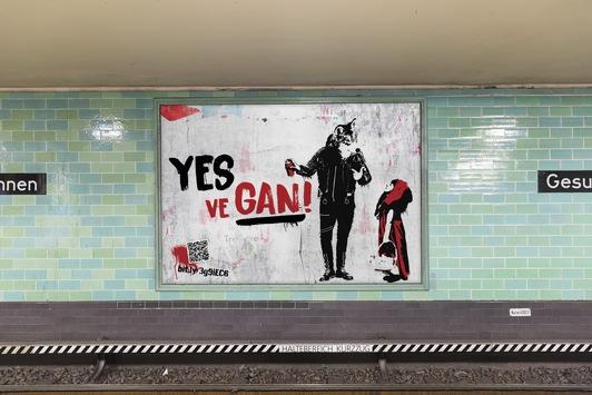 """Yes, ve gan!"" im Veganuary / iglo macht den Bösen Wolf zum Veganer"