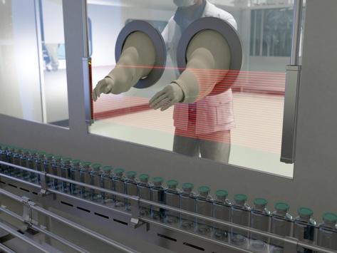 Sicherheitslichtvorhänge zur Absicherung von Handarbeitsplätzen – Datalogic bietet ein vollständiges Sortiment an Sicherheitslichtvorhängen zur Maschinensicherung in Gefahrenbereichen