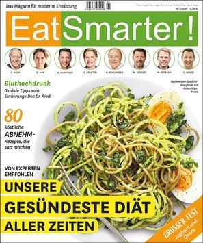 EAT SMARTER Heft 1/2021 – die große Abnehmausgabe mit der gesündesten Diät aller Zeiten