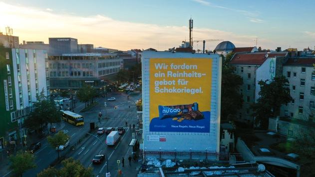 the nu company fordert Reinheitsgebot für Schokoriegel / Food-Startup lädt Branchenriesen zum Schokoriegel-Gipfel