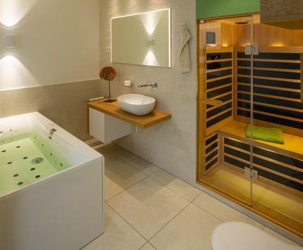 Heiße Sauna, smartes Licht, cooles Design / Mit den Experten von ELEMENTS wird das heimische Bad zur Spa-Oase