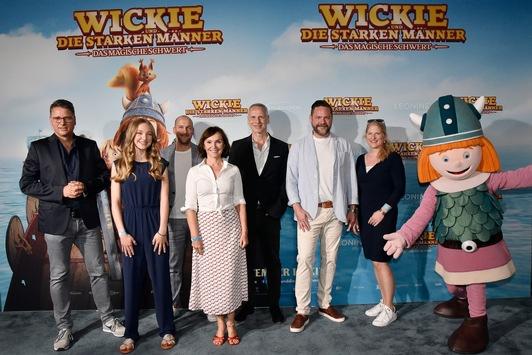 WICKIE UND DIE STARKEN MÄNNER – DAS MAGISCHE SCHWERT feiert Premiere in München