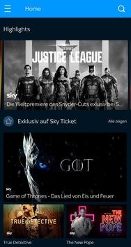 Sky Ticket ab sofort für alle Smartphones und Tablets von HUAWEI erhältlich