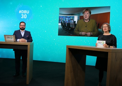 Merkel: DBU ist eine entscheidende Impulsgeberin für nachhaltiges Leben und Wirtschaften / 30 Jahre Deutsche Bundesstiftung Umwelt – Festakt