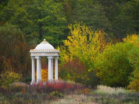 Was macht der grüne Baron im Winter wenn der Schlosspark Dennenlohe geschlossen hat?