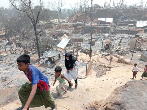 """Bangladesch: Immer noch hunderte Vermisste nach Brandkatastrophe / Bündnisorganisationen von """"Aktion Deutschland Hilft"""" unterstützen Aufräumarbeiten, Schadenserfassung und Nothilfe"""