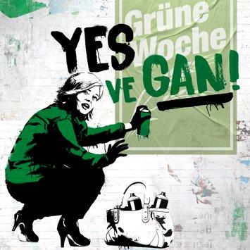 """""""Yes, ve gan!"""" geht auf der Internationalen Grünen Woche weiter / iglo macht Ministerin Klöckner zur veganen Aktivistin"""