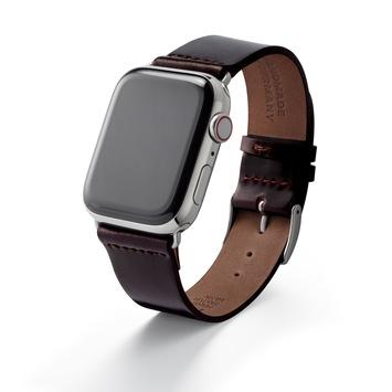 Edle Armbänder für die Apple Watch, handgefertigt – made in Germany / Feine Lederarmbänder, wie man es sonst nur von Luxusuhren kennt