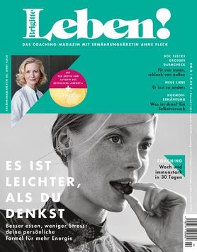 """Vierte Ausgabe von BRIGITTE LEBEN mit Internistin, Präventiv- und Ernährungsmedizinerin Dr. Anne Fleck in Kooperation mit """"Punkt 12"""""""