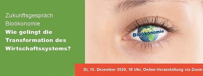 Einladung zum Zukunftsgespräch Bioökonomie