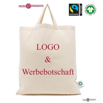Nachhaltige Werbemittel: GOTS-Baumwolltaschen mit Fairtrade-Zertifikat