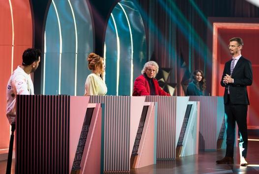 """Wie lange kann Joko Winterscheidt seine Show noch verteidigen? Palina Rojinski, Elyas M'Barek und Thomas Gottschalk greifen bei """"Wer stiehlt mir die Show?"""" erneut an"""