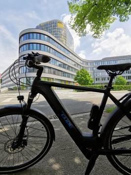 ADAC Fahrrad-Versicherung Click & Go: Fahrrad und E-Bike minutengenau per App versichern / Bedarfsorientierte Kurzzeit-Versicherung / Beiträge immer im Blick / Pilotphase in München und Berlin