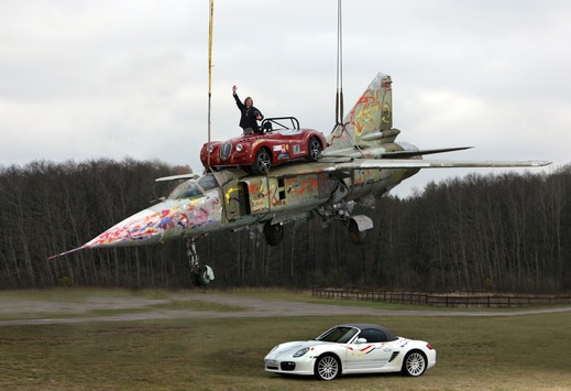 Weltrekord! Schnellster Lieferservice für PKWs! / World record! Fastest delivery service for cars!