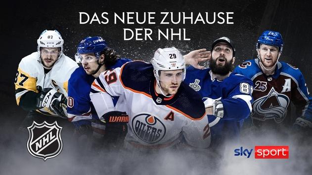Das neue Zuhause der NHL – Saisonauftakt der NHL 2021/22 in der Nacht von Dienstag auf Mittwoch exklusiv auf Sky
