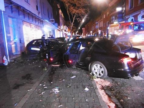 POL-AC: Unfall in Würselen: 47-Jähriger verletzt sich schwer