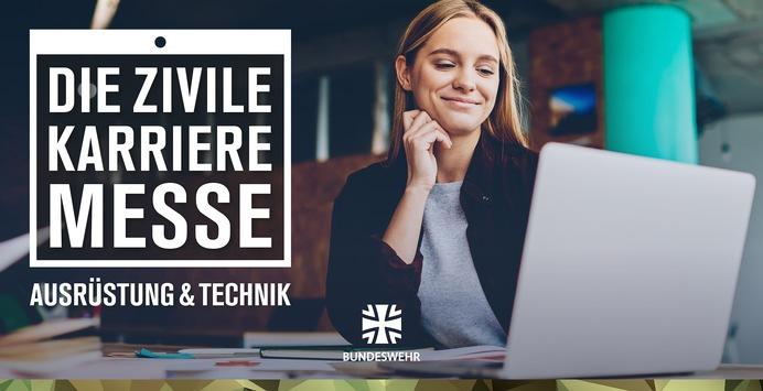 Digitales Recruiting Event der Bundeswehr: Die Zivile Karrieremesse – Ausrüstung & Technik