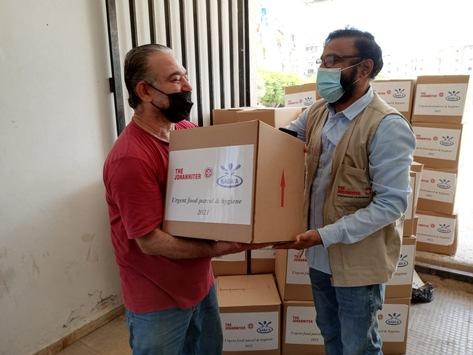 Libanon: Hilfe gegen den Zusammenbruch / Johanniter starten weitere Nahrungsmittelhilfen für die hungernde Bevölkerung