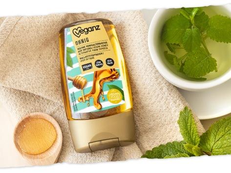 Veganz Honigalternative Ohnig von PETA mit Vegan Food Award 2021 'Beste Produktinnovation' ausgezeichnet