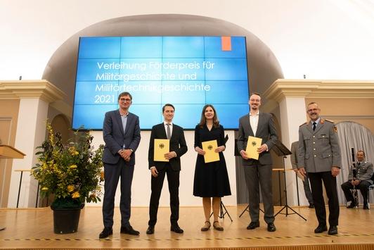 BAAINBw verleiht Förderpreis für Militärgeschichte und Militärtechnikgeschichte an wissenschaftlichen Nachwuchs