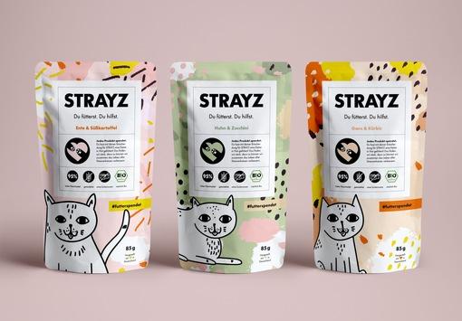Wie das neue Social Start-up STRAYZ mit Bio-Katzenfutter & Hipster-Socken das Leben aller Straßenkatzen verbessern will