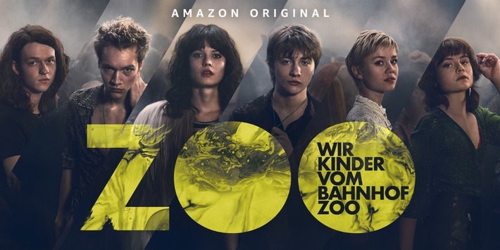 Amazon Original Serie Wir Kinder vom Bahnhof Zoo: Serienadaption der Constantin Television und Amazon Studios startet am 19. Februar exklusiv bei Prime Video in Deutschland, Österreich und der Schweiz