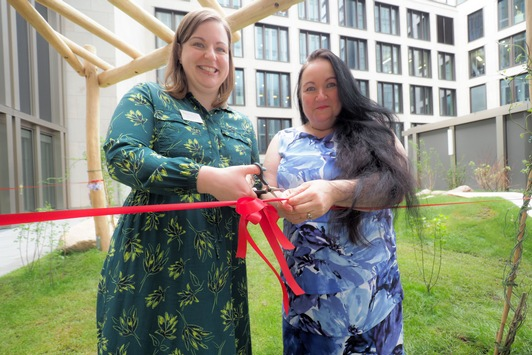 Spielen und Toben über den Dächern Frankfurts: pme Familienservice feiert neue Kita Kids Marienturm
