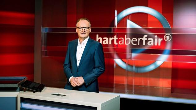 """hart aber fair"" am Montag, 11. Oktober 2021, 21:00 Uhr, live aus Köln"