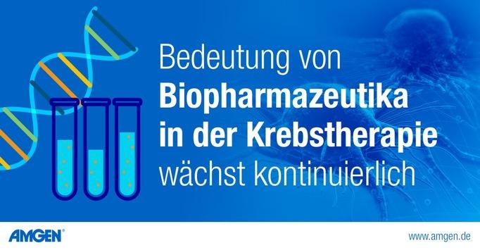 Aktuelle Daten: Bedeutung von Biopharmazeutika in der Krebstherapie wächst kontinuierlich