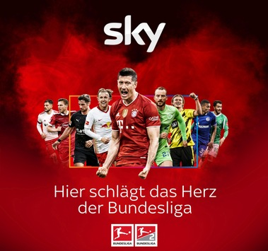 Die Saison 2021/22 bei Sky mit dem kompletten Bundesliga-Samstag live, allen Spielen der 2. Bundesliga live und der besten Berichterstattung an jedem Tag der Woche