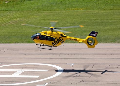 ADAC Luftrettung führt modernsten Hubschrauber ein / Übergabe der ersten zwei Maschinen des Typs H145 mit Fünfblattrotor / Gesamte H145-Flotte wird schrittweise auf fünf Rotorblätter umgebaut