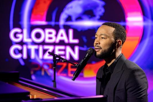 Das war der Global Citizen Prize 2020 / Alle Fotos, Statements und Videos jetzt zum Download