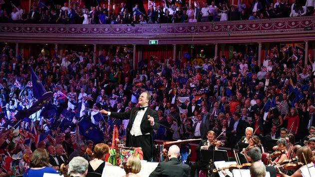 """Last Night of the Proms 2021"" live zeitversetzt im 3satFestspielsommer /"