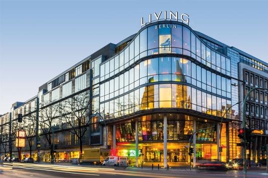 """Neuer Name für Berlins erste Design-Adresse: Living Berlin / Rund 20 Jahre nach Eröffnung als """"stilwerk Berlin"""" präsentiert sich das Haus modernisiert"""