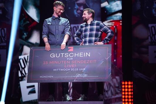 """Novum für """"Joko & Klaas LIVE"""": Erstmals bitten Joko & Klaas Herrn ProSieben um Unterstützung"""