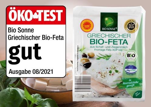 """Griechischer Bio-Feta der NORMA-Eigenmarke BIO SONNE von ÖKO-TEST ausgezeichnet / """"gut""""-Bewertung für das hochwertige Discounter-Produkt"""