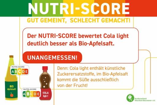 Nutri-Score benachteiligt Bio – BNN startet Kampagne im Naturkostfachhandel