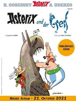 Asterix und der Greif – So heißt das neue Asterix-Abenteuer