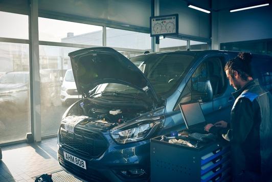 Daten zeigen Vorteile von FORDLiive: Schon jetzt weniger Ausfallzeiten bei Kundenfahrzeugen dank neuem Service