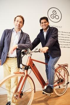 TVS Motor Company geht strategische Partnerschaft mit der Schweizer E-Bike-Marke EGO Movement ein
