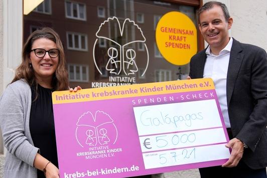 """Gemeinsam für die gute Sache: Galapagos Biopharma Germany unterstützt die """"Initiative krebskranke Kinder München e. V."""""""
