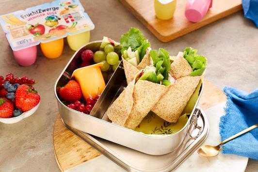Zwischen Kinderwünschen und Vorstellungen der Eltern: So gelingt die gesunde Lunchbox im Nu