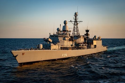 """NATO-Operation in der Ägäis: Fregatte """"Lübeck"""" sticht in See"""