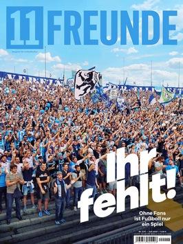 Cover des Jahres 2020: '11Freunde' vermisst die Fußball-Fans im Stadion