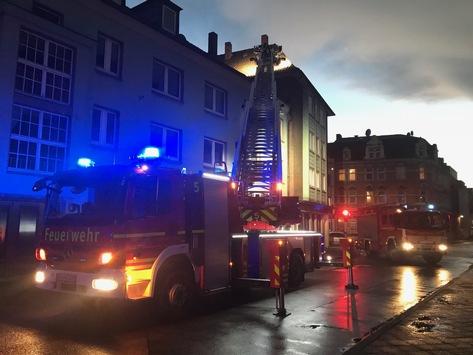 FW-GE: Sturmtief Frederike beschäftigt die Feuerwehr bis in die Abendstunden