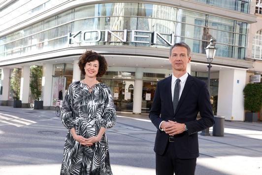 Modehäuser KONEN und BRAM werden Teil von Breuninger / Breuninger expandiert in München und Luxemburg