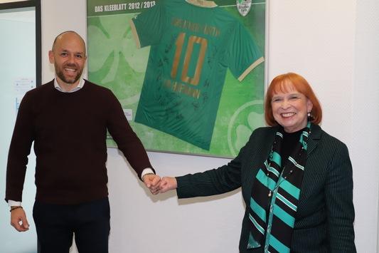 Wir gehen in eine weitere Verlängerung / Hofmann Personal bleibt Hauptsponsor bei der Spielvereinigung Greuther Fürth